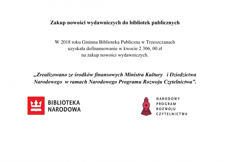 Zakup nowości wydawniczych 2018-1